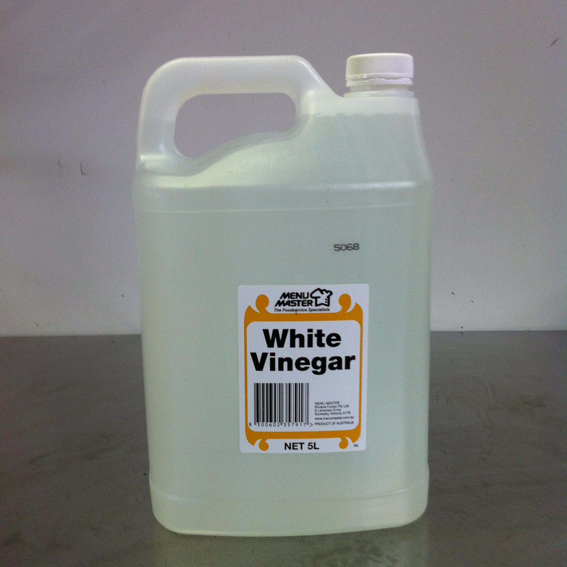 Menu Master White Vinegar 5Lt.